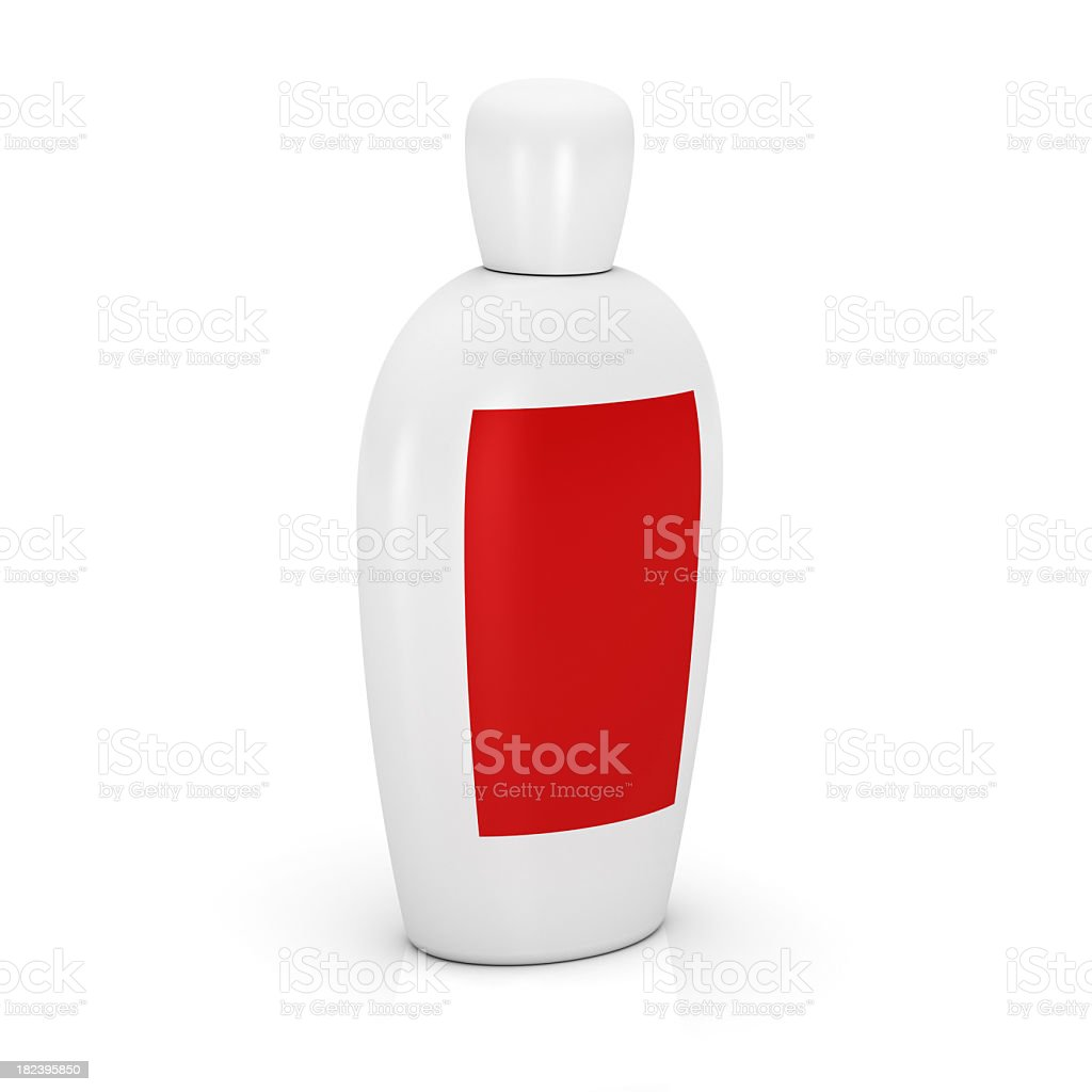 bottle for cosmetic products royalty-free stock photo
