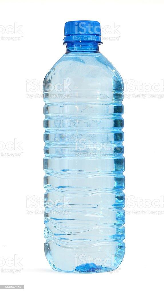 bottle full of water stock photo