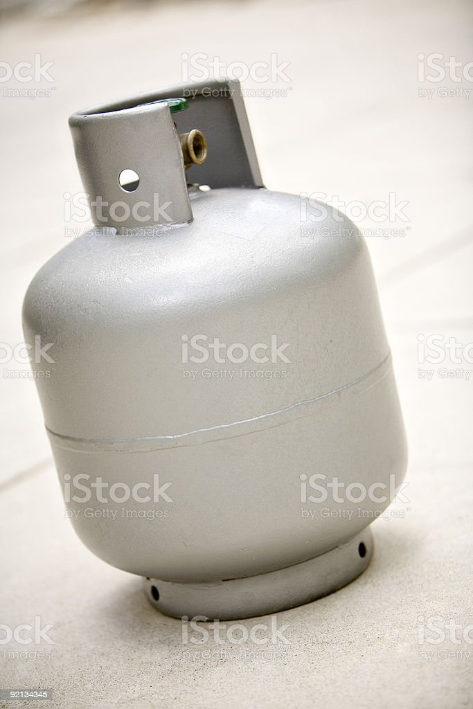 LPG bottle full royalty-free stock photo