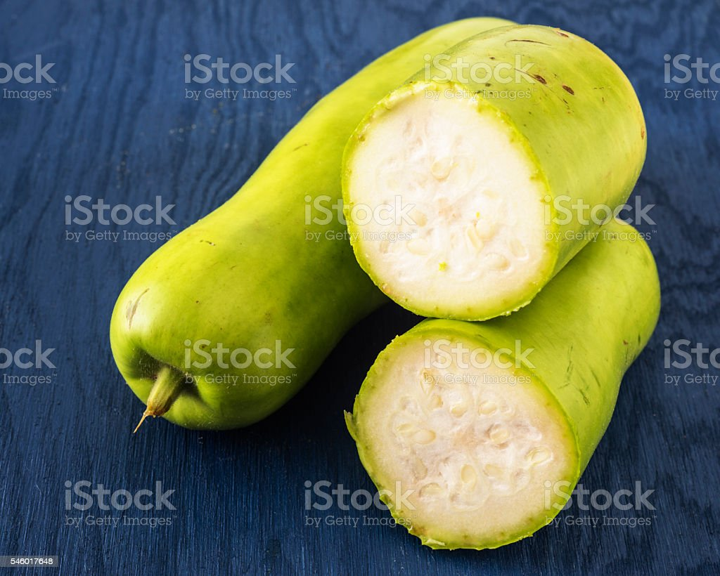 Bottle gourds stock photo