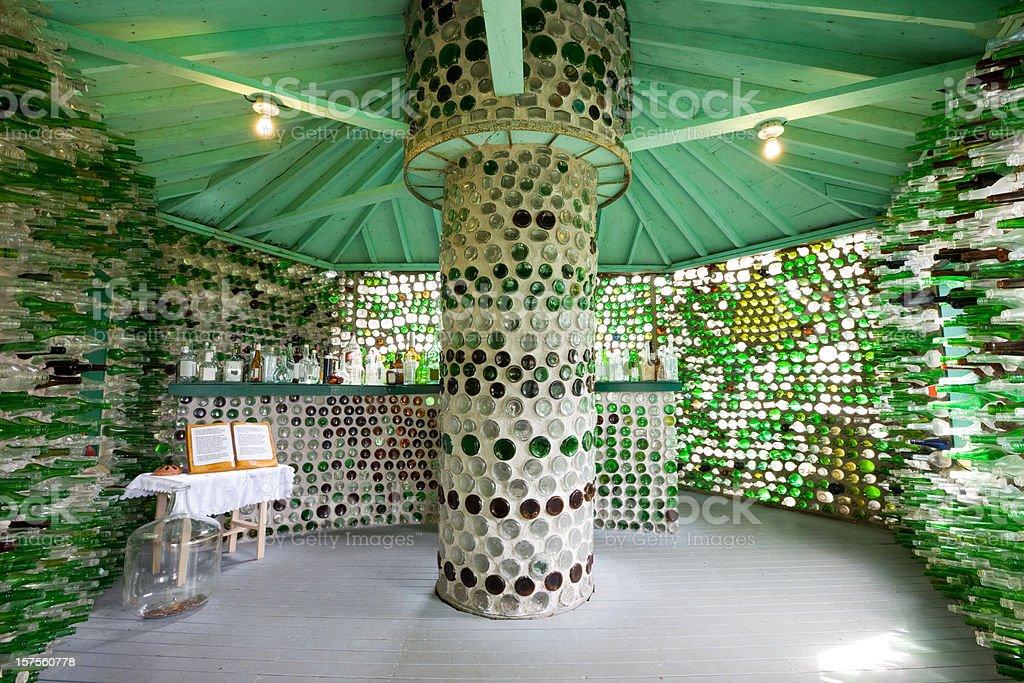 Bottle House, Prince Edward Island, Canada royalty-free stock photo