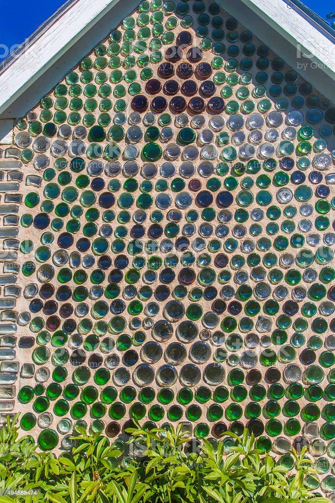 Bottle House, Prince Edward Island stock photo