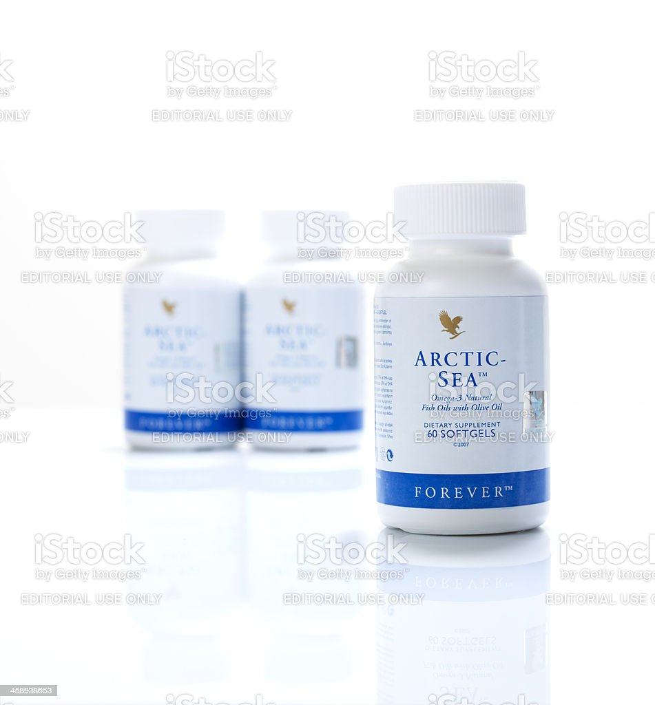 Bottle Of Arctic Sea by Forever Living stock photo