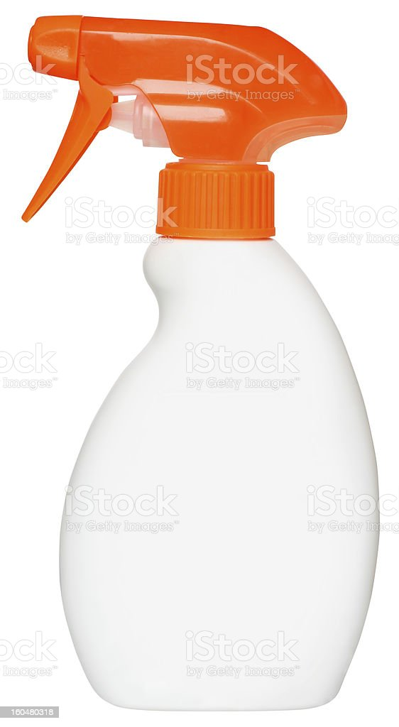 bottle of detergent royalty-free stock photo