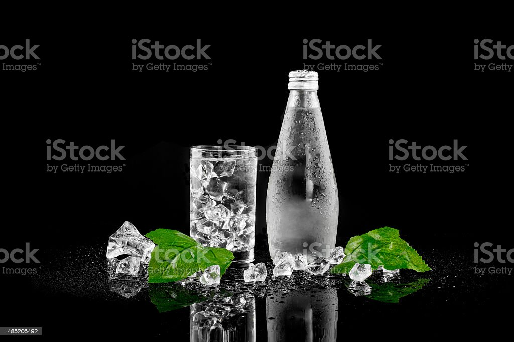 Bottle of Drinking Water royalty-free stock photo
