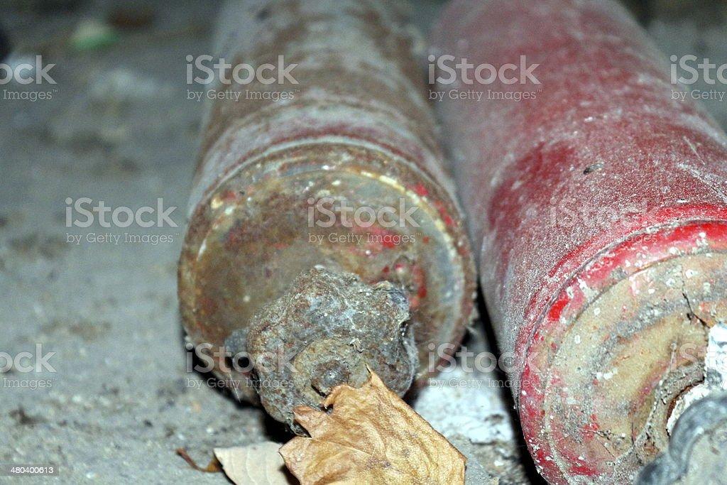 bottle of gas stock photo