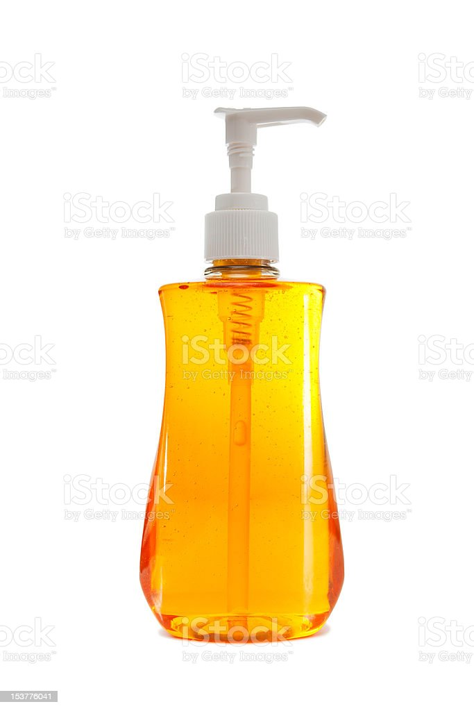 Bottle of Hand Soap royalty-free stock photo
