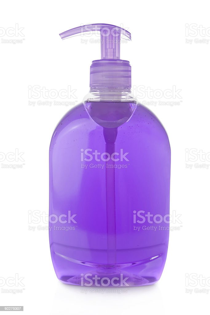 Bottle of liquid soap royalty-free stock photo
