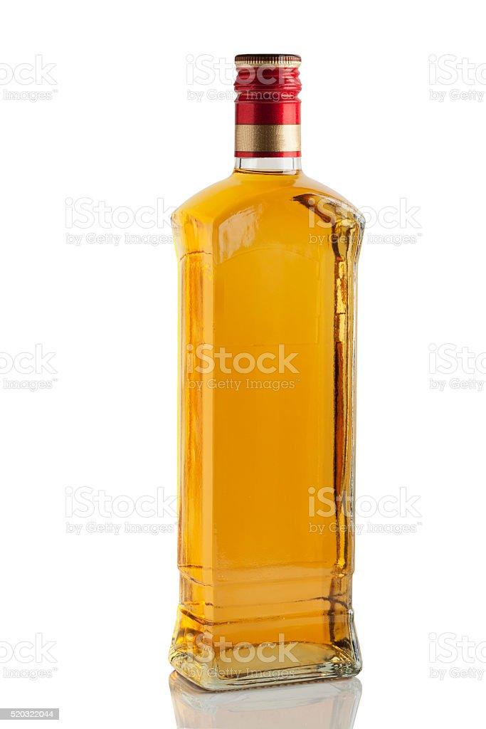 bottle of liquor stock photo
