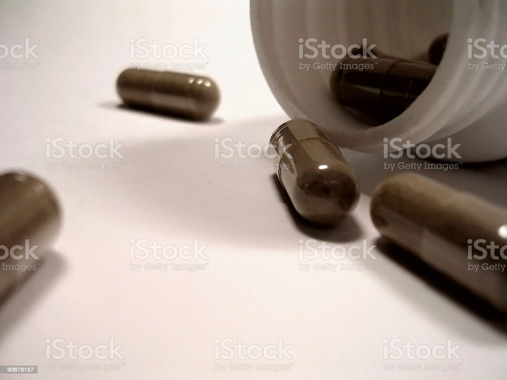 Bottle of Medicine royalty-free stock photo