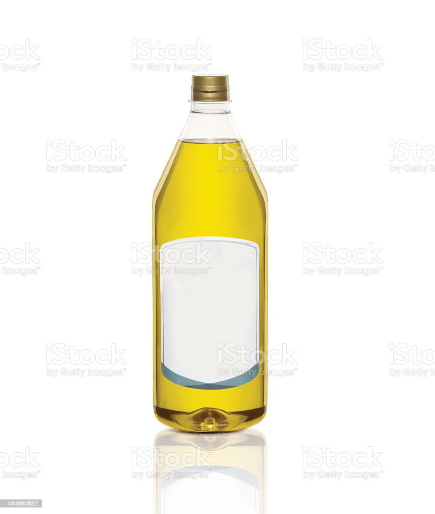 Bottle Of Olive Oil stock photo