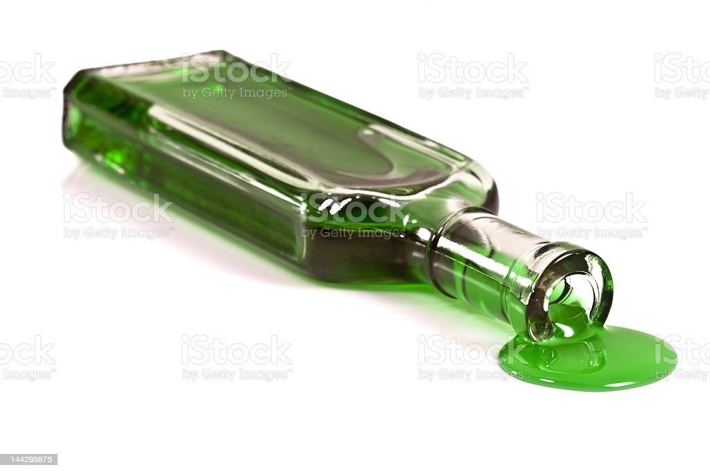 Bottle of Ooze royalty-free stock photo