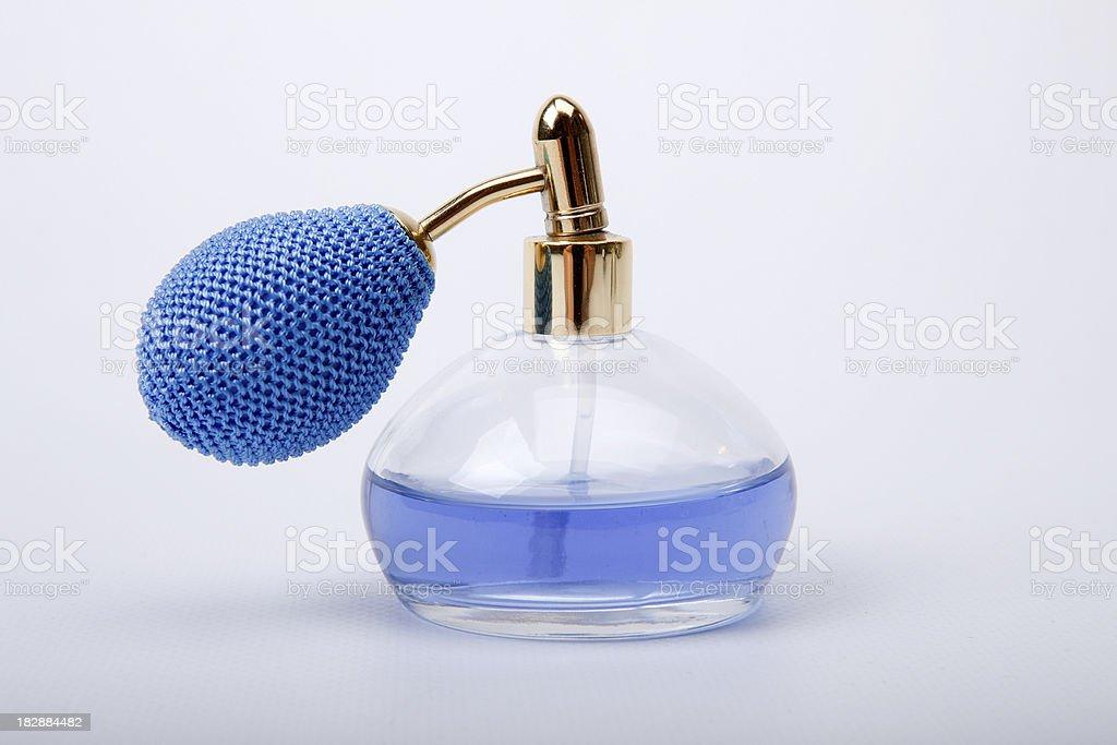 bottle of perfume royalty-free stock photo