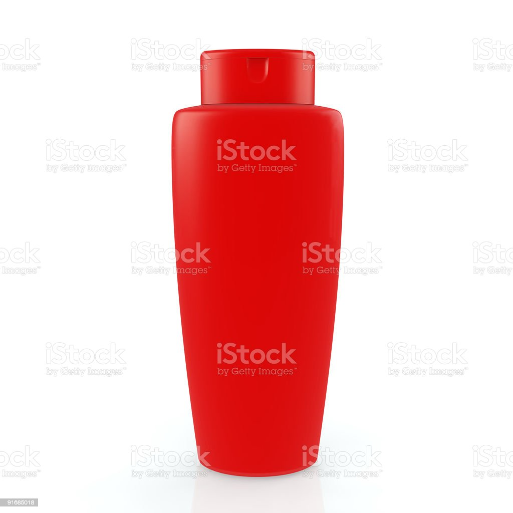 bottle of the shampoo royalty-free stock photo
