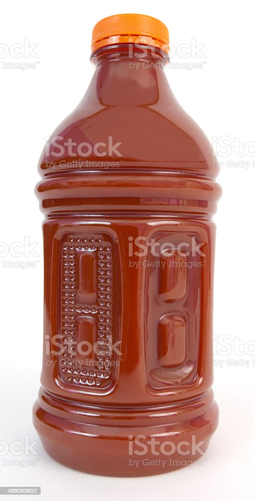 Bottle of Tomato Juice stock photo