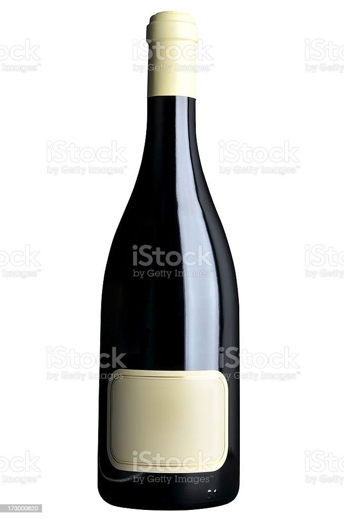 XL Bottle of wine royalty-free stock photo