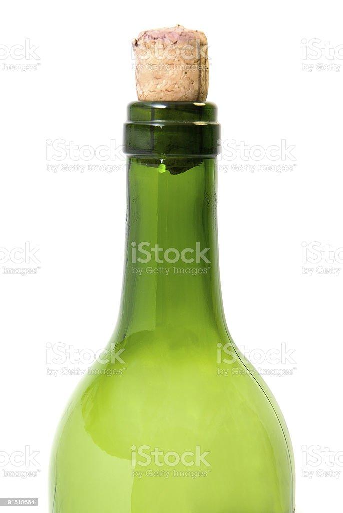 Bouteille de vin photo libre de droits