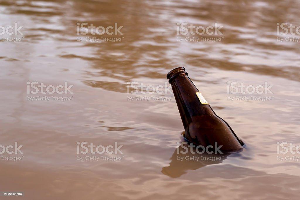 Bottle. stock photo