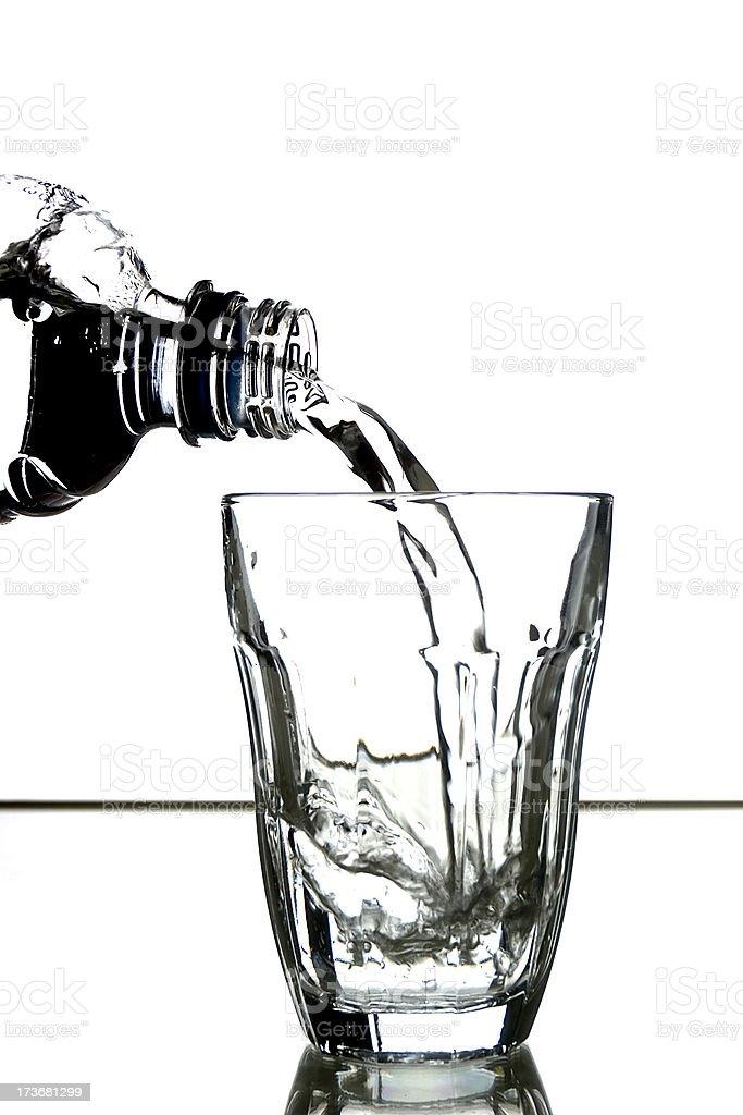 Bottle Pour 1 royalty-free stock photo