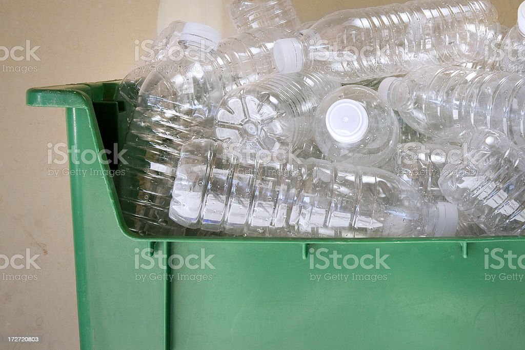 Bottle Recycle stock photo