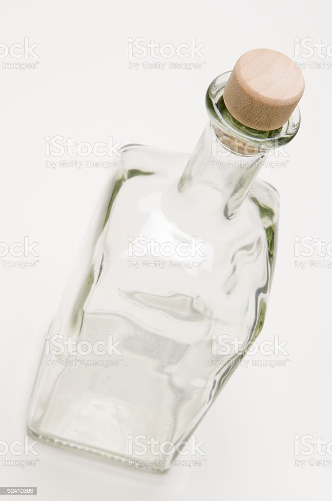 bottle top view royalty-free stock photo