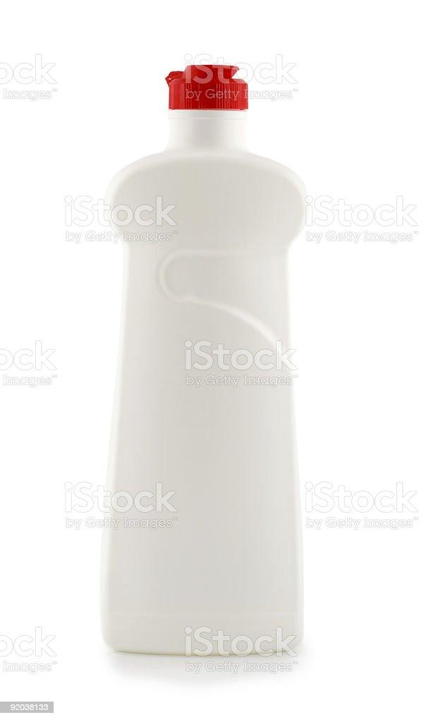 bottle white stock photo