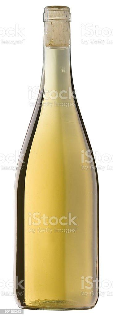 Bottiglia con clipping path foto stock royalty-free