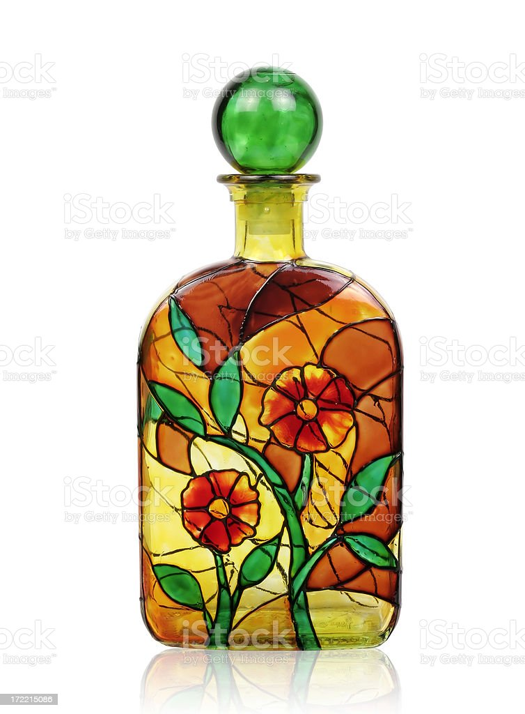 Bottle With Paths royalty-free stock photo