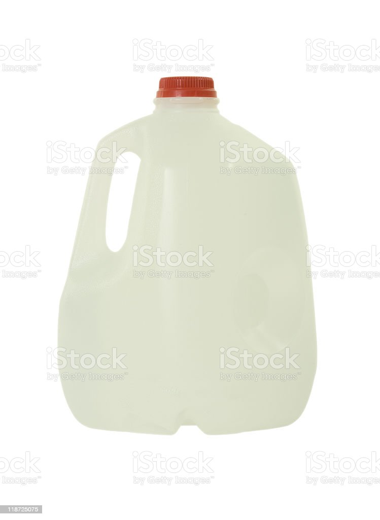 Bottle with Purified Water royalty-free stock photo
