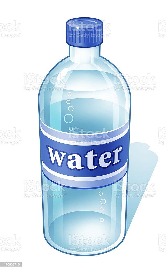 bottled water stock photo