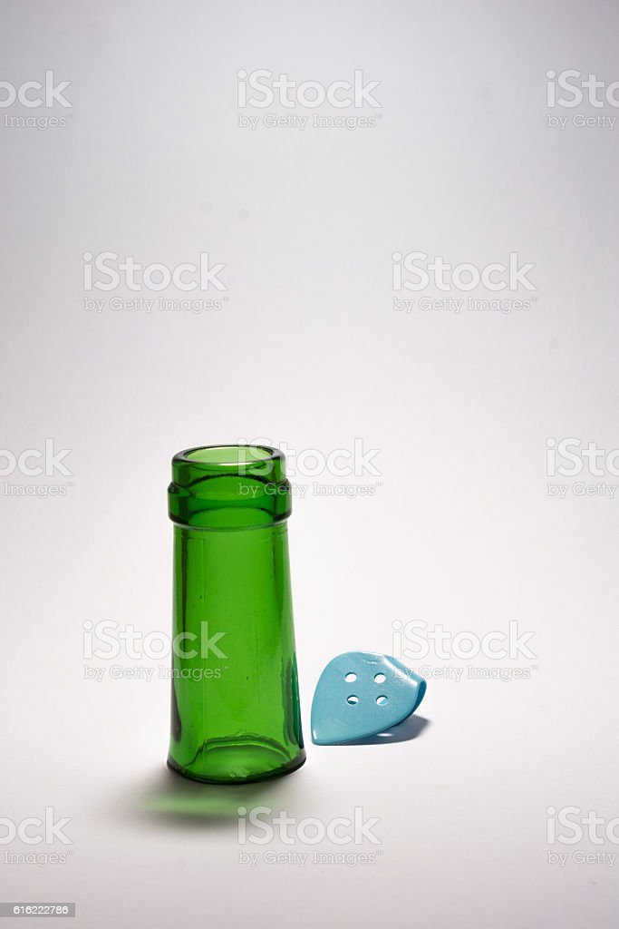 Bottleneck and Thumbpick royalty-free stock photo