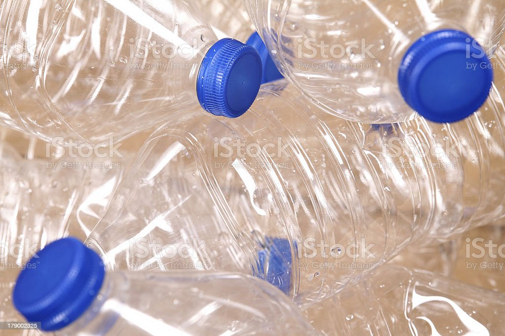 Bottles of water. royalty-free stock photo