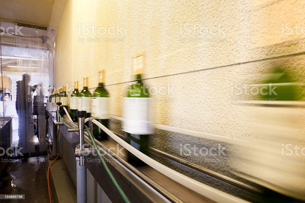 Bottling Line stock photo