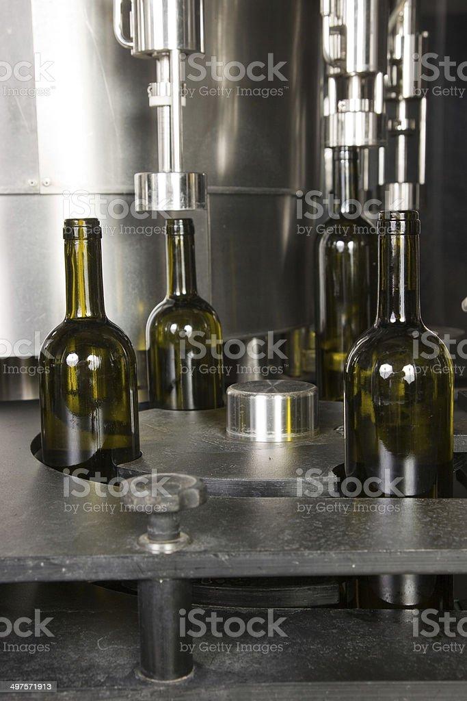 bottling line royalty-free stock photo