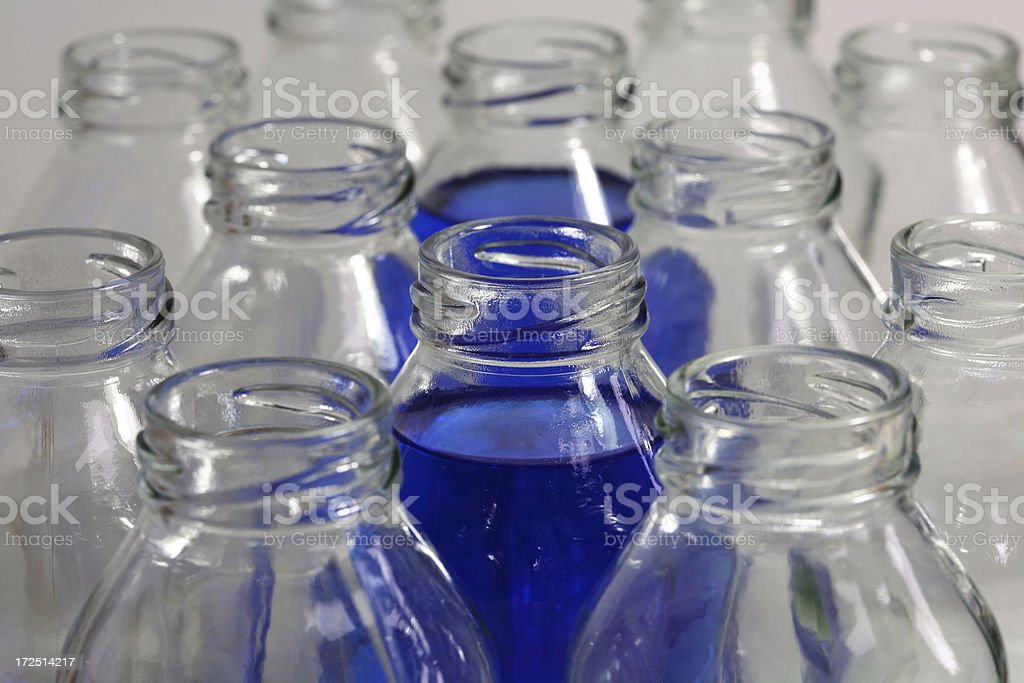 Bottling plant royalty-free stock photo