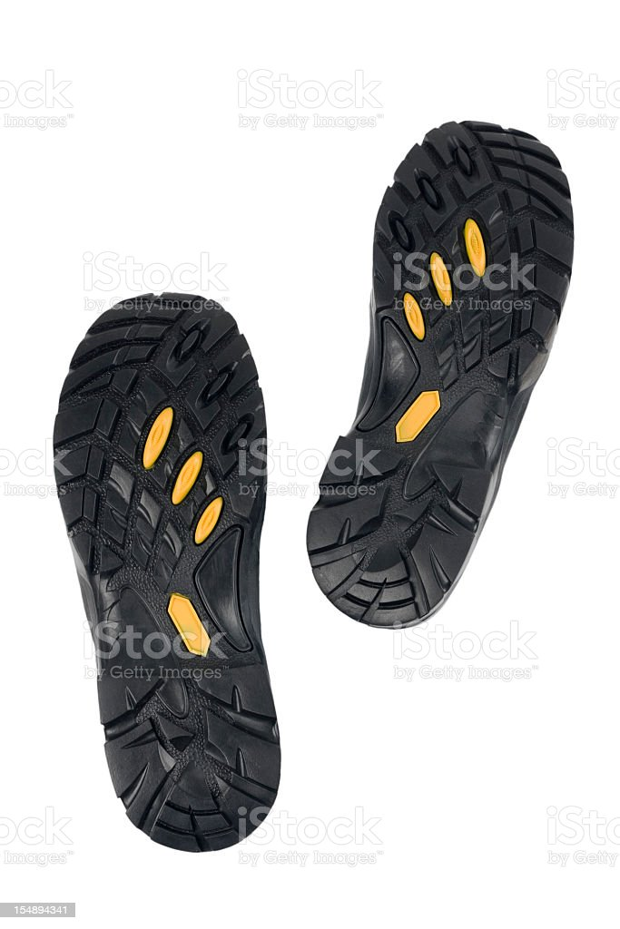 Bottom of shoes stock photo