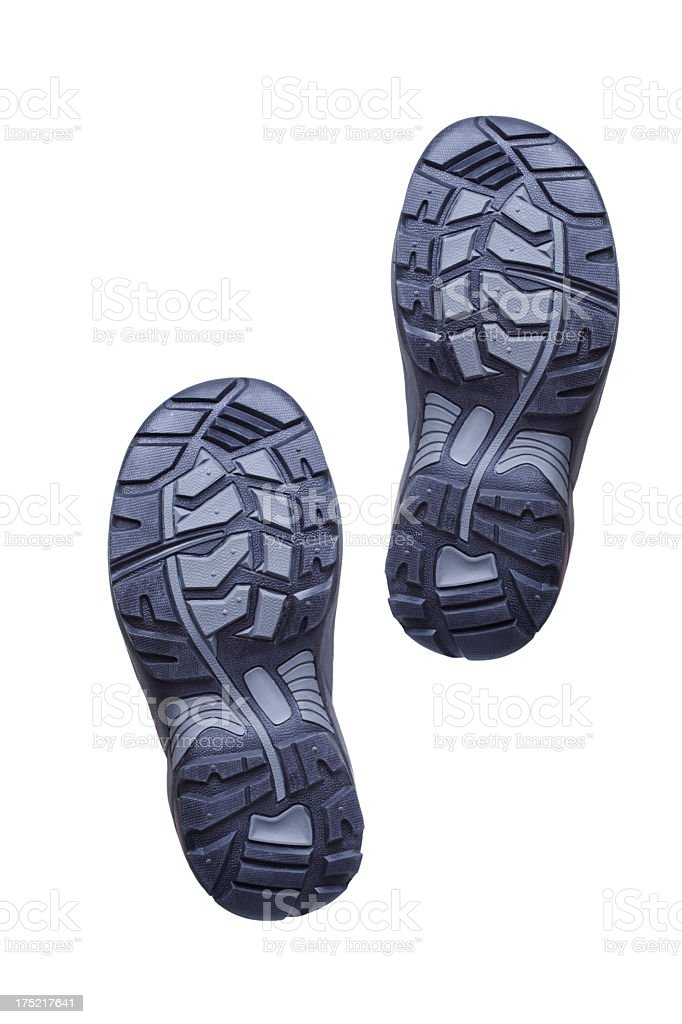Bottom of shoes royalty-free stock photo