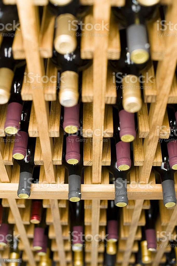 Bottomless Winerack royalty-free stock photo