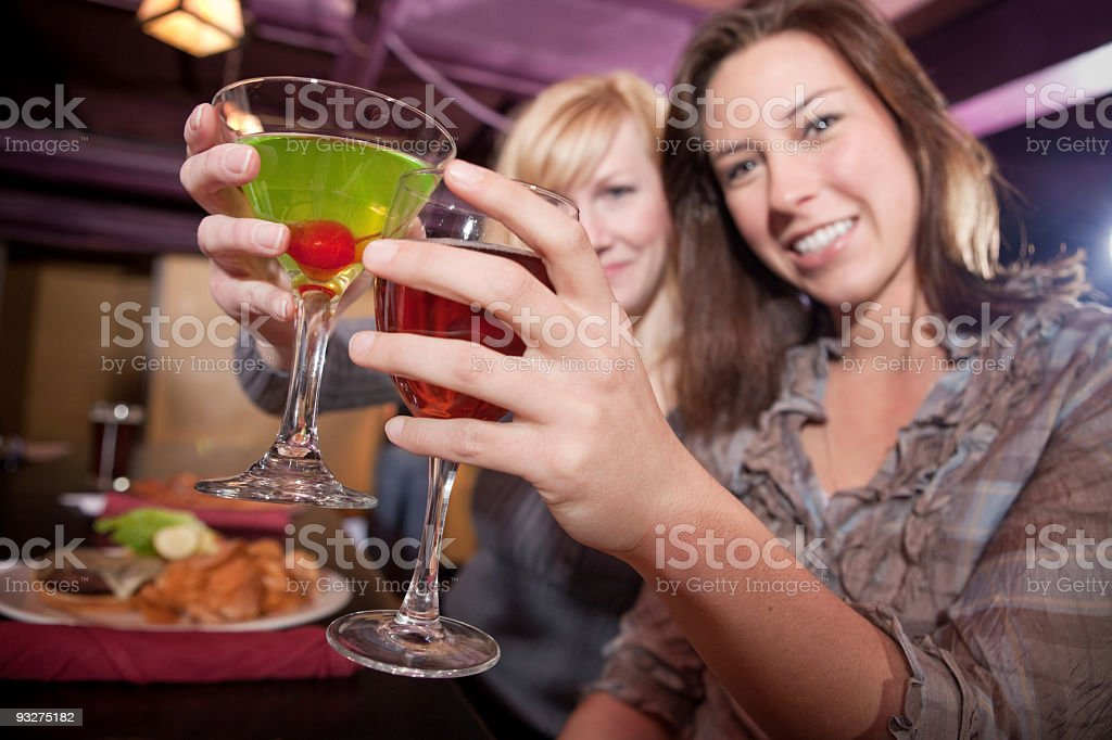 Bottoms Up royalty-free stock photo