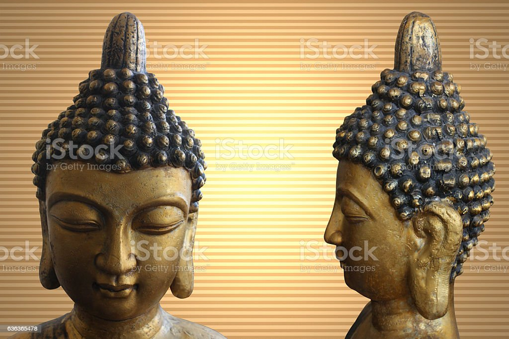 Bouddha - Zen - Spiritualité stock photo