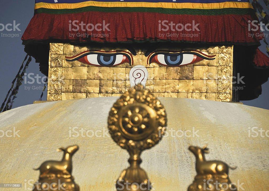 Bouddhanath royalty-free stock photo
