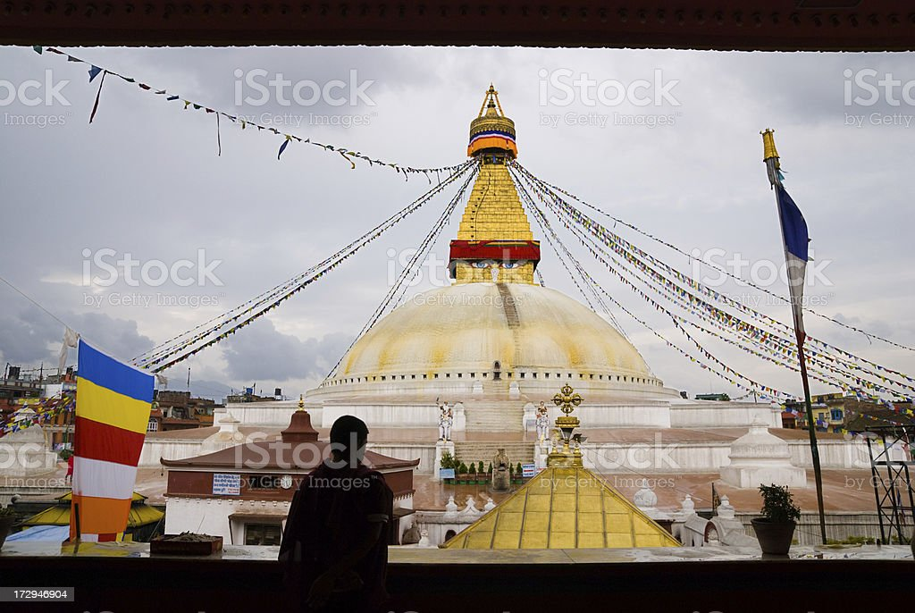 Boudhanath royalty-free stock photo