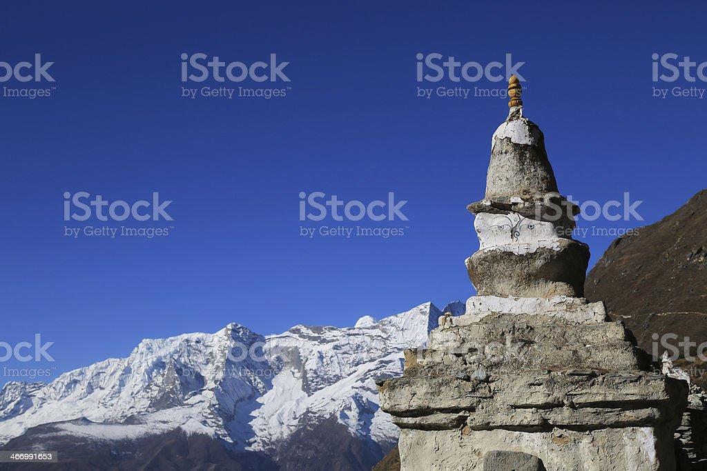 boudhanath stupa  from nepal royalty-free stock photo