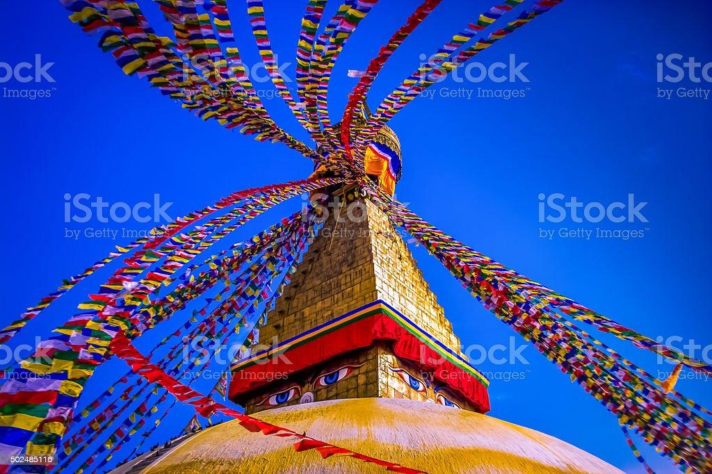 Boudhanath Stupa,Kathmandu! stock photo
