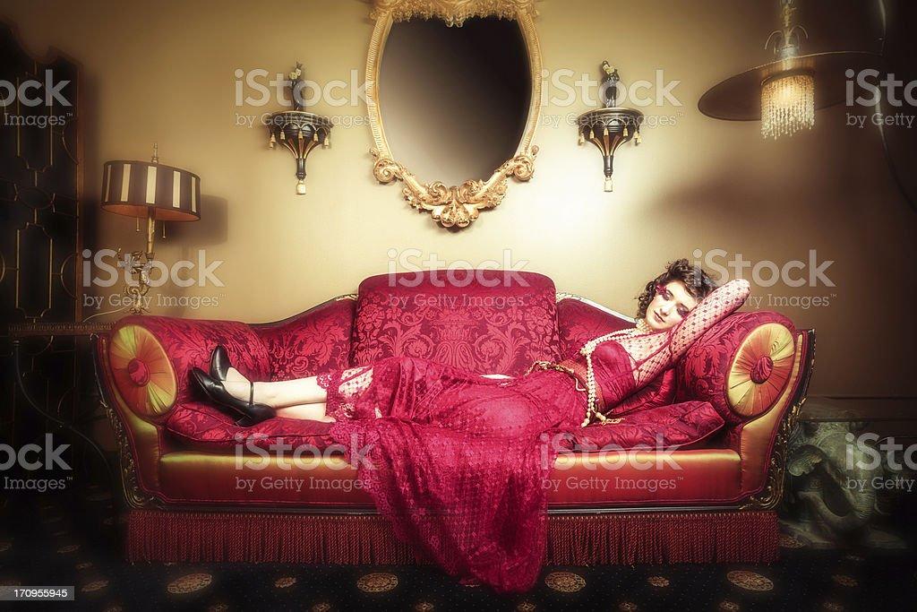Boudoir Dreams stock photo