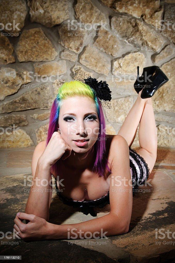 Boudoir Woman stock photo