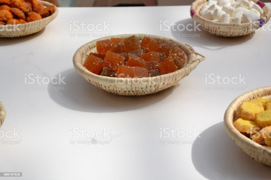 Bouffe Cake & Food at a wedding party stock photo