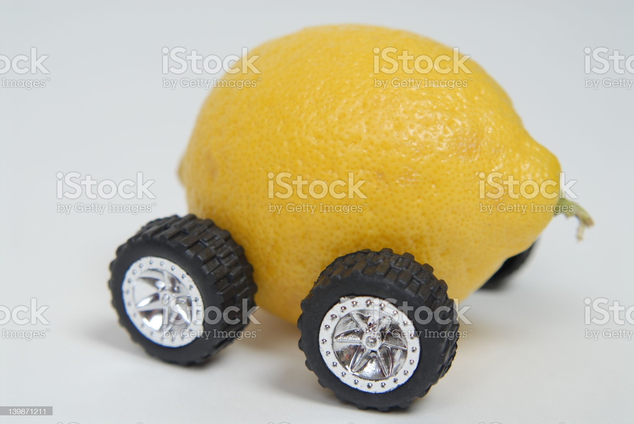 Bought another lemon royalty-free stock photo