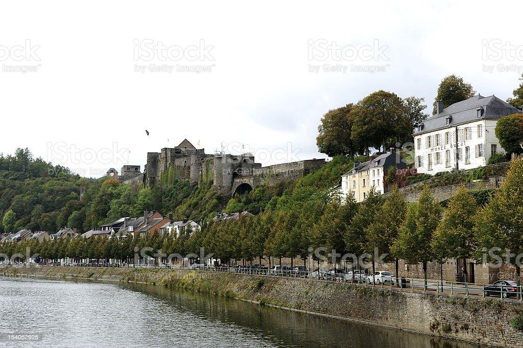 Bouillon Castle stock photo