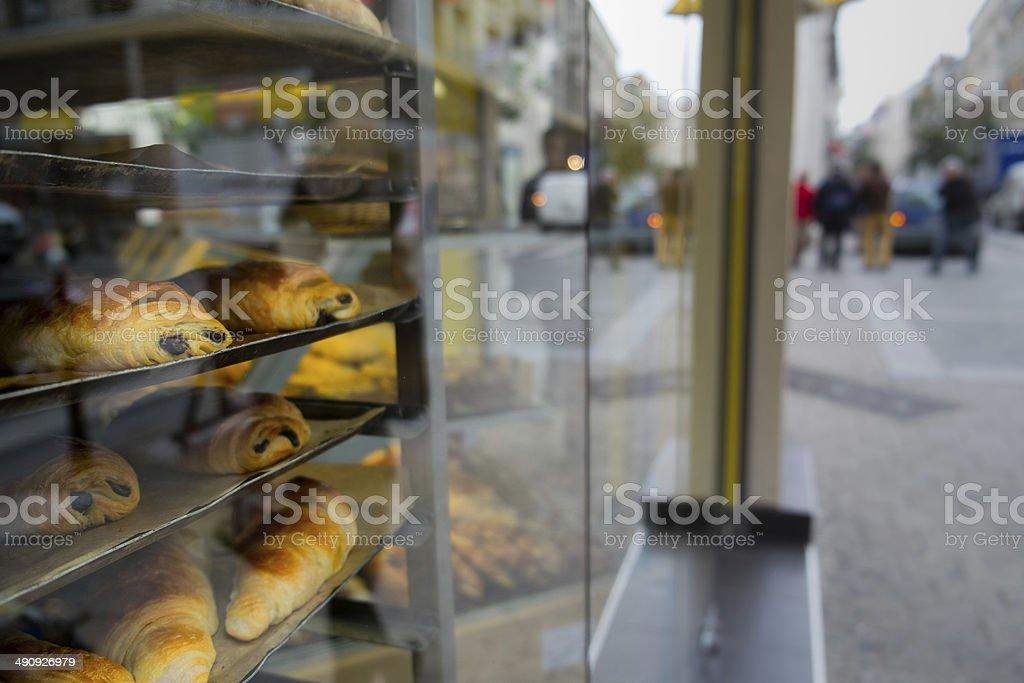 Boulangerie in France stock photo
